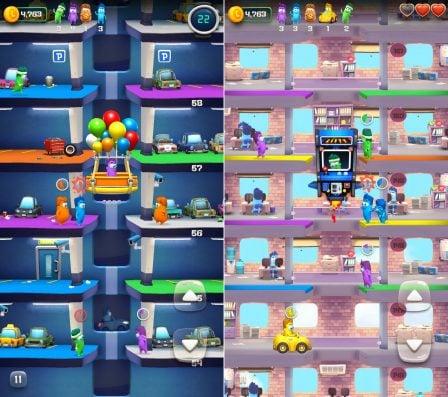 Lifty! : ambiance colorée, explosions et ascenseurs dans un nouveau jeu iPhone/iPad (MàJ) 3