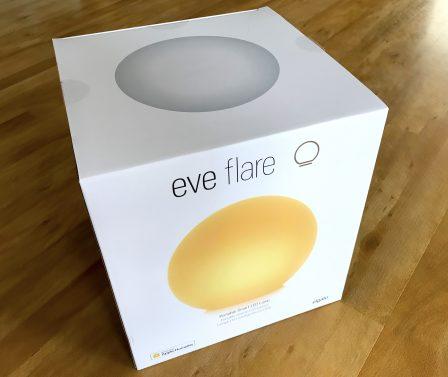 Test de la lampe connectée Eve Flare: pour mettre l'ambiance tout en couleurs, via HomeKit/Siri 2