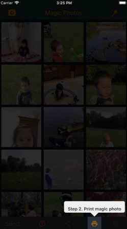 Miise à jour gagnants - Magic Photos AR: Les photos prennent vie façon Harry Potter, en Réalité Augmentée (3 licences a gagner) 4