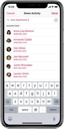 Voici comment partager son activité et défier ses amis sportifs avec l'Apple Watch 2