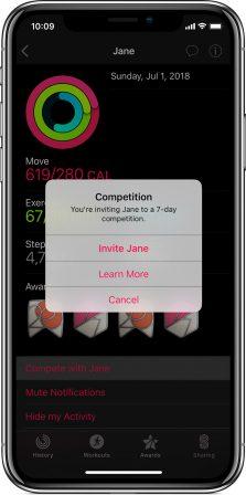 Voici comment partager son activité et défier ses amis sportifs avec l'Apple Watch 3