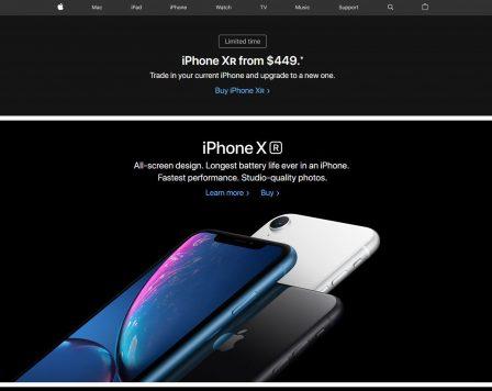 Indiscrétion Bloomberg: mobilisation chez Apple pour pousser les ventes d'iPhone XS et XR? 2