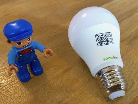 Avant son test, l'ampoule connectée Vocolinc en photos: compatible HomeKit et enceintes intelligentes 4