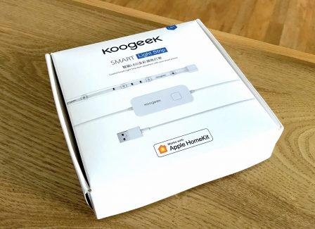 En promo flash à -25%  / Test du bandeau LED Koogeek compatible HomeKit/Siri, pour une ambiance colorée 3