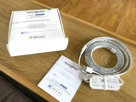 En promo flash à -25%  / Test du bandeau LED Koogeek compatible HomeKit/Siri, pour une ambiance colorée 4