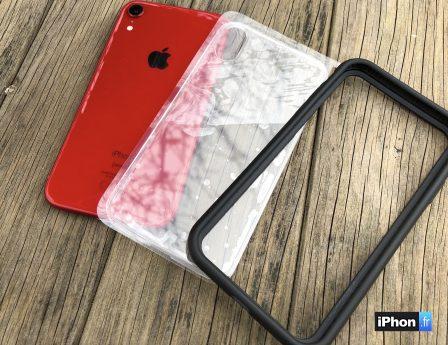 Test des coques iPhone XR et des tous nouveaux objectifs photos Rhinoshield 3