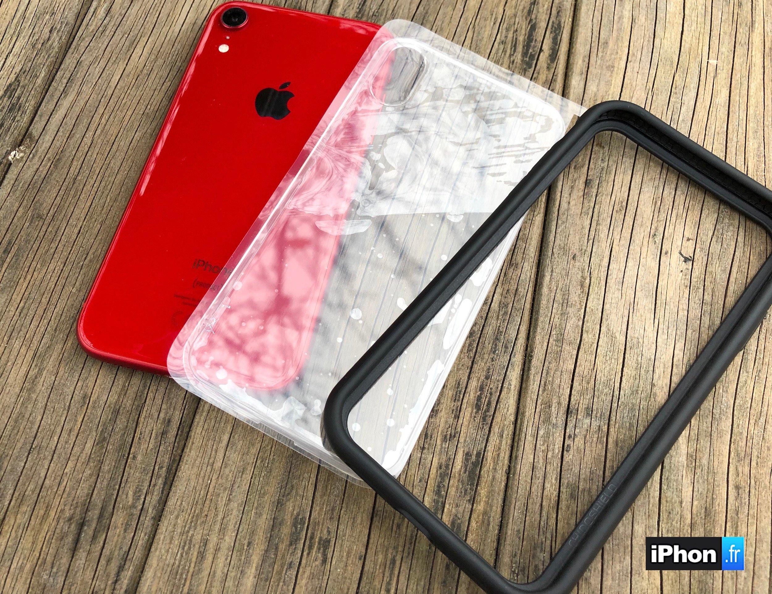 coque iphone xr avec bumper