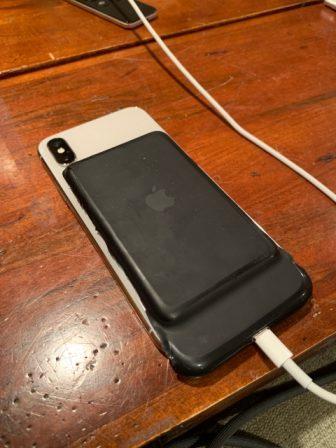 La Smart Battery Case pour iPhone X/XS est bien prévue dans iOS 3