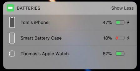 La Smart Battery Case pour iPhone X/XS est bien prévue dans iOS 4