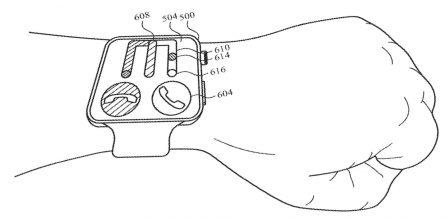 La détection de mouvement: une interface pour l'Apple Watch et l'iPhone? Deux exemples chez Apple 2