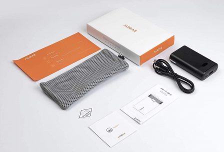 Promo flash: batteries Qi avec afficheur numérique et sortie USB-C PD, en capacités 10 000 et 20 000 mAh 5