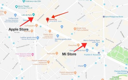 Xiaomi vient chercher Apple et Samsung sur leur terrain: ouverture d'un Mi Store aux Champs-Elysées 3