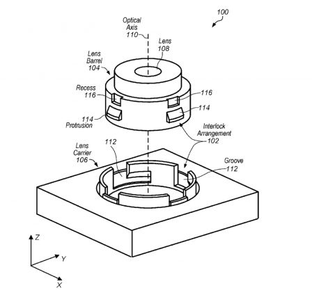 Apple imagine un système intégré pour adapter des objectifs photos sur l'iPhone 2
