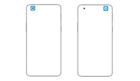 Voici comment cacher le trou de l'objectif photo en face avant d'un smartphone, selon Oppo, malin? 4