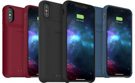 La nouvelle coque batterie Mophie Access libère la prise Lightning des iPhone XS, XS Max et XR (double recharge Qi) 2