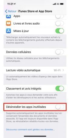 C'est quoi le symbole nuage à côté du nom d'une app iOS? Que faire pour le supprimer? 4