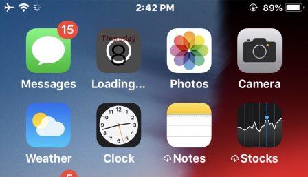 C'est quoi le symbole nuage à côté du nom d'une app iOS? Que faire pour le supprimer? 3