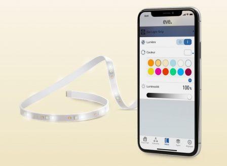 CES 2019: bandeau lumineux Homekit désormais disponible et multiprise commandée confirmée chez Eve Systems 2