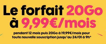 Dernières heures Promo forfait Sosh: illimité + 20 Go à 9,99€/mois (et autres offres du moment) 3
