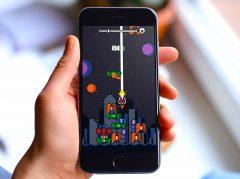 Galaxy Stack: Les aliens débarquent dans un mix de shooter rétro et de Tetris sur iOS (Màj) 2