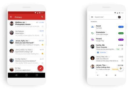 L'appli Gmail iOS va bientôt passer à un design plus moderne 2