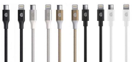 Les premiers câbles tiers Lightning / USB-C certifiés MFi font leur apparition chez Belkin et Griffin 3