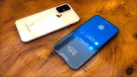 Concept d'iPhone 2019: gros objectif et design iPhone 4 en photos et vidéo 2