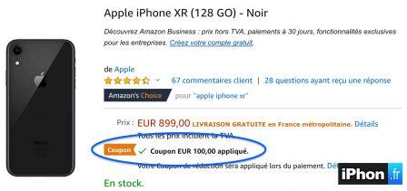 iPhone XR, XS, X et 8 Plus moins chers: bons de réduction de 50 à 100 euros... Comment les utiliser! 3