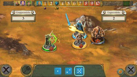 Devenez la légende du royaume d'Andor, dans cette adaptation iOS du jeu de plateau 3
