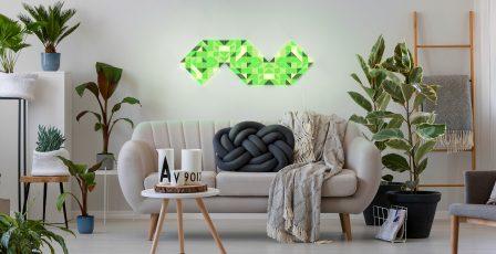 LaMetric s'accroche au mur avec des dalles lumineuses connectées façon Nanoleaf 4