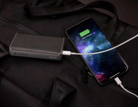 Mophie sort des batteries externes avec recharge rapide «Power Delivery» : 30 min pour 50% de recharge 2
