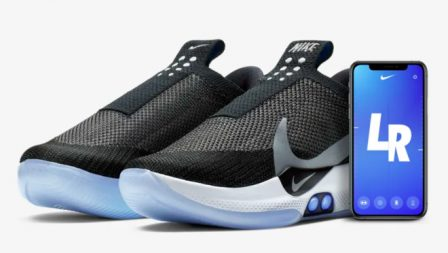 Le futur est là : Nike sort une chaussure de basket qui se laçe seule, pilotée par l'iPhone 2