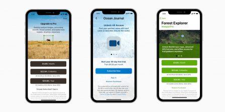 """Apple veut s'assurer que les achats et abonnements """"in-app"""" sont présentés de manière claire! 2"""