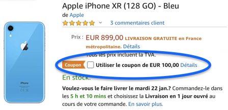 iPhone XR, XS, X et 8 Plus moins chers: bons de réduction de 50 à 100 euros... Comment les utiliser! 2