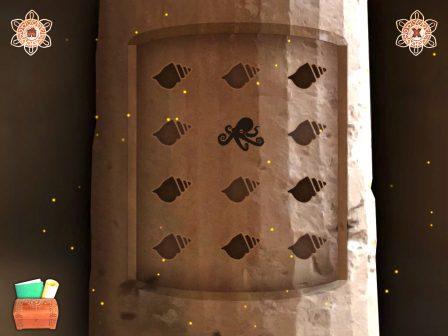 Un temple et des secrets à découvrir en point-&-click dans Panmorphia Enchanted sur iPhone et iPad 3