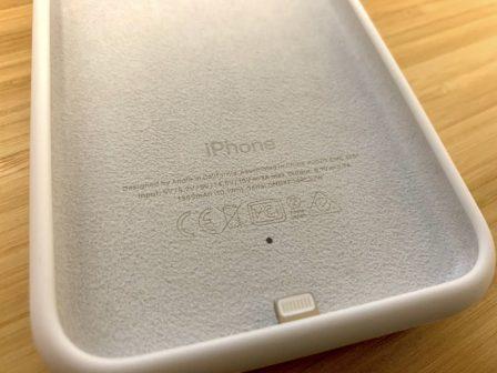 MàJ x 2 - Apple sort ses coques «Smart Battery» Qi pour iPhone XS, XS Max et XR 7