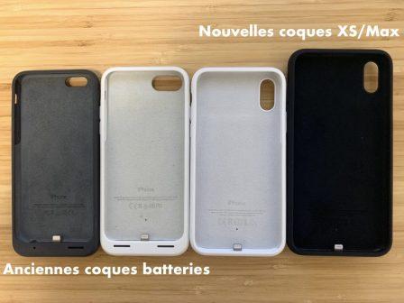 MàJ x 2 - Apple sort ses coques «Smart Battery» Qi pour iPhone XS, XS Max et XR 9