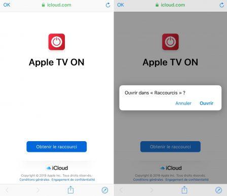 Un raccourci iOS pour allumer son Apple TV, c'est possible! Le voici 2