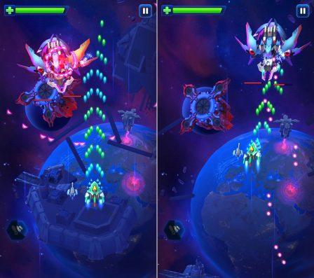 Space Justice: nouveau shooter spatial efficace, beau et fluide, de sortie sur iPhone et iPad 2