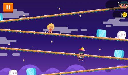 Défiez des pentes en skate à fond, dans l'amusant Tap Skaters, nouveau jeu iPhone, iPad 2