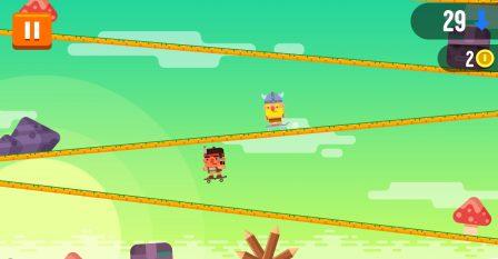 Défiez des pentes en skate à fond, dans l'amusant Tap Skaters, nouveau jeu iPhone, iPad 3