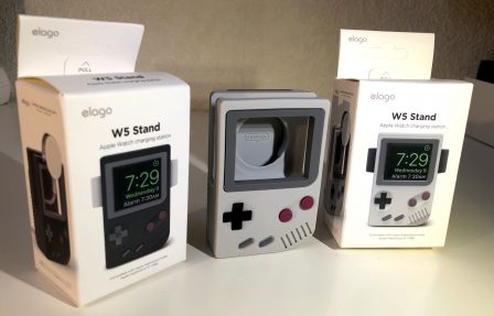 En promo flash - Test : support Elago W5, l'Apple Watch devient Game Boy avec un support de recharge rétro ! 5