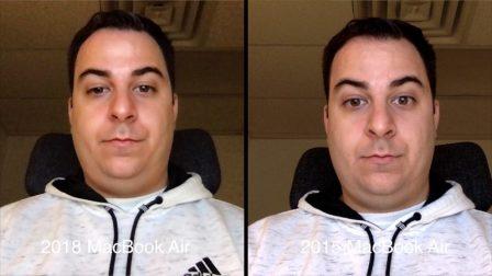 La qualité de la caméra FaceTime de certains MacBook Air 2018 jugée décevante 2