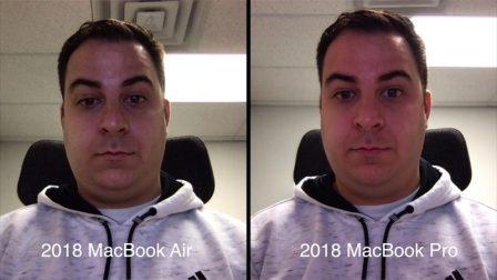 La qualité de la caméra FaceTime de certains MacBook Air 2018 jugée décevante 3