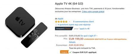 MàJ 15 fév. : Coupons de réduction chez Amazon, Apple Watch 3 et 4 moins chères (50€ sur Séries 4) et code promo iPad, iPhone XS à -90 euros 4