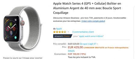 MàJ - L'iPhone XR à partir de 799 euros, XS Max intéressant, Watch 4G à -100€ et iPad à 329,99€ 3