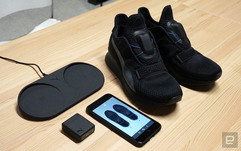 Aussi A À Des Connectées Automatique Chaussures Iphone Puma Laçage 1JTKcFl