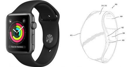 Apple réfléchit à une Apple Watch avec écran flexible 1