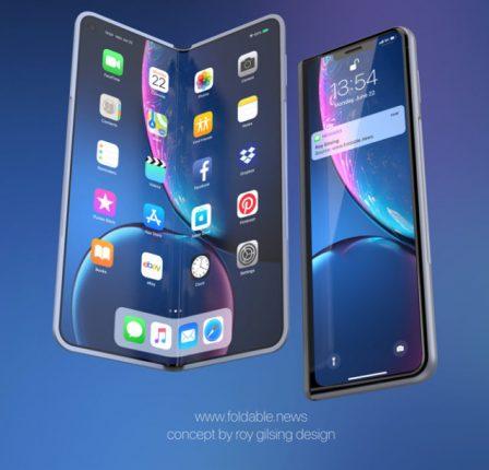 L'iPhone pliable imaginé : concept 3D en photos et vidéo 2