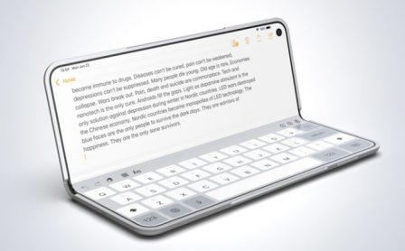 L'iPhone pliable imaginé : concept 3D en photos et vidéo 3